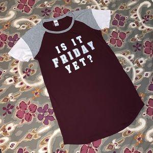 PINK Victoria's Secret, Sleep shirt or tunic, SM
